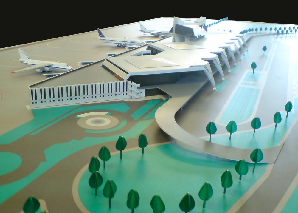 Аэропорт макет своими руками 47