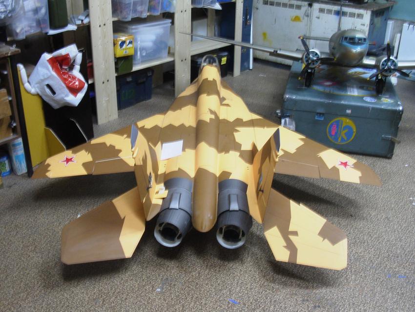 Реактивная авиамодель своими руками 63